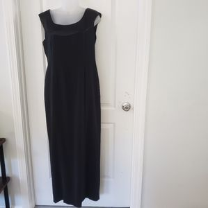 Jones New York Evening Black formal gown sz 10